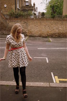 heart print Primarni dress - Louche belt