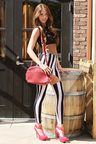 UrbanOG leggings - clash haven bag UrbanOG bag - UrbanOG top - UrbanOG pumps