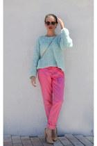 South Lodge sweater - Ebay bag - Ebay sunglasses - SarsaparillaLondon pants