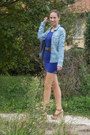 Blue-h-m-dress-denim-h-m-shirt