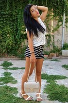 Forever 21 shorts - no brand shoes - upim bag - Terranova top