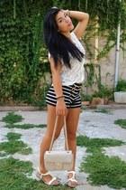 Forever 21 shorts - no brand shoes - upim bag - Terranova top