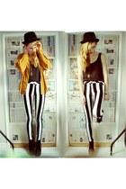 black striped jordan Motel Rocks jeans