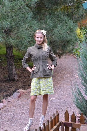 Laura Ashley dress - Forever 21 blazer