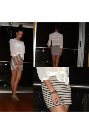 skirt - shoes shoes - blouse primark blouse