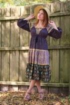 Forever 21 heels - vintage dress