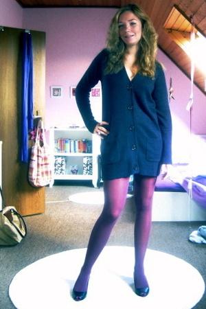 Zara jacket - American Apparel tights - Zara shoes