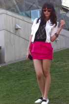 Forever21 jacket - supre shirt - unbranded skirt - unbranded shoes