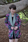 Vintage-blazer-vintage-dress
