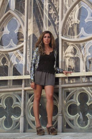 Xutz shoes - Mango jacket - H&amp;M shorts