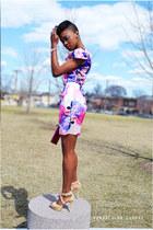 H&M dress - Bebe sandals