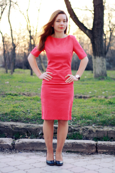 hot pink Little Mistress dress - crimson Born Pretty Store accessories