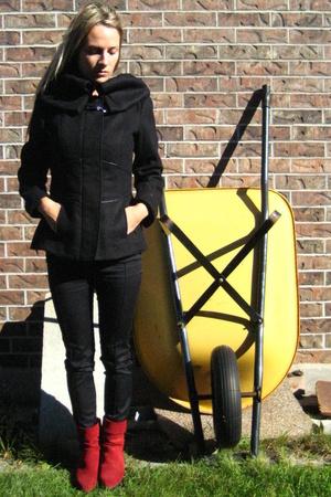 Zara coat - vintage - Marciano pants