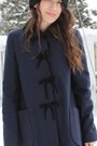 Black-steve-maden-boots-navy-topshop-coat-black-zara-hat