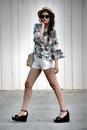 Sugarlips shirt - Jonak shoes - Zara bag