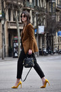 Bimba-lola-blazer-see-by-chloé-bag-zara-pants-zara-heels-obey-top