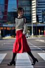 Zara-shoes-sheinside-sweater-pepa-loves-skirt