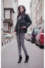 Heather-gray-bershka-jeans-black-banggood-jacket-black-zara-bag
