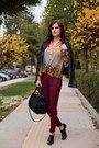 Ruby-red-adl-jeans-black-mango-jacket-black-zara-bag
