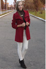 Dark-brown-mango-boots-brick-red-forever-21-coat-ivory-bershka-pants