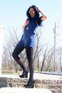 Black-topshopop-jacket-black-h-m-stockings-blue-forever-21-black-hale-bob-