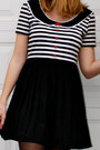 Black-hand-made-dress-tan-urban-outfitters-sweater-black-oxfords-target-flat