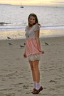 Light-pink-american-apparel-skirt-dark-brown-loafers-eggshell-forever-21-dre