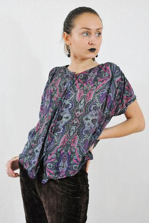 vintage 70s blouse