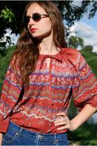 coral Vintaholic blouse