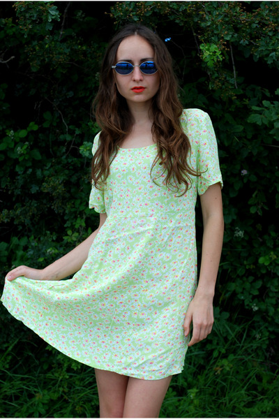 lime green Vintaholic dress