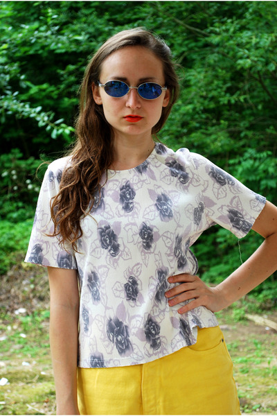 ivory Vintaholic blouse