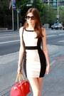 Light-pink-mix-no-6-shoes-black-forever-21-dress-red-arcadia-bag