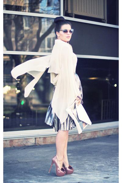 asos blouse - H&M skirt