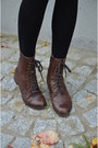 H-m-scarf-boots-shorts-stockings-h-m-top-zara-cardigan