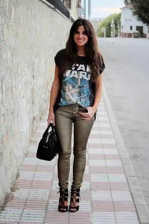 pull&bear t-shirt - Zara pants