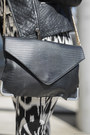 Black-leather-biker-mintvelvet-jacket-black-clutch-asos-bag