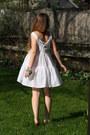 White-cotton-the-dress-shop-dress-silver-hark-jewelry-the-dress-shop-necklace