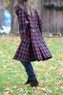 Wallflower-vintage-coat-dark-brown-nine-west-boots-navy-levi-jeans