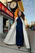 navy Wallflower Vintage dress - silver Wallflower Vintage coat