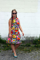 yellow Wallflower Vintage dress - red Wallflower Vintage dress