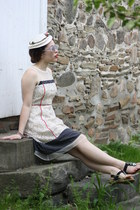 ivory The Dress Shop hat - off white cotton sheer The Dress Shop dress