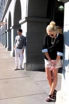white printed pants Club Monaco pants