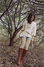 Vintage-blazer-frye-boots