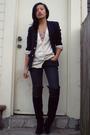 Se-boutique-boots-ralph-lauren-blazer-charlotte-russe-top