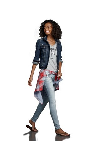 Abercrombrie jeans - Abercrombrie jacket - Abercombrie top