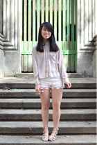 H&M top - asos shoes - Shanghai shorts