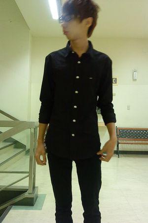 black Olivo shirt - black
