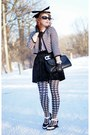 White-houndstooth-forever-21-jacket-black-houndstooth-emilio-cavallini-tights