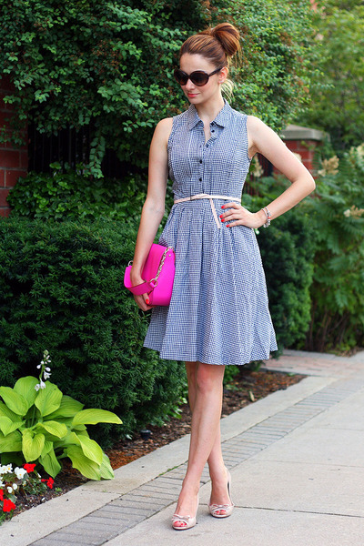 Jacob dress - kate spade bag - kate spade sunglasses - Prada heels