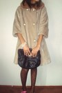 Beige-jacket-brown-buffalo-exchange-tights-pink-vintage-shoes